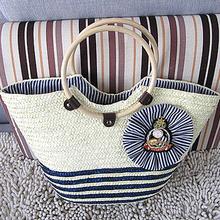 2015 summer hawaii straw bag straw summer beach bags T970