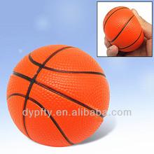 PU anti stress squeeze basketballs balls