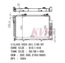 Radiador para C-CLASS W202 OEM 202.500.2103