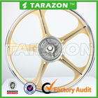 high quality new design motorcycle gold and silver CNC stunning Aluminium alloy wheels