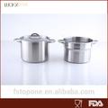 De aço inoxidável pasta pot / panela / couscous pote