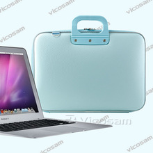 PU leather laptop sleeve for macbook air