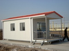 prefabricated house cabin/portable house/ware house