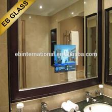wall mount TV LCD magic mirror, eb glass