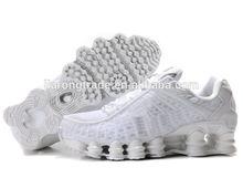white new brand of white sports shoes 2014 women full palm cushion antiskid training shoes new design shox basketball shoes