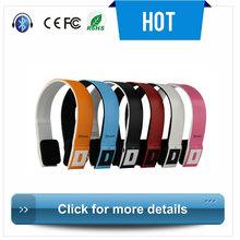 2014 Professional portable foldable bluetooth speaker headphone pillows