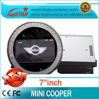 LSQ Star High quality Car radio for Mini Cooper hot selling!