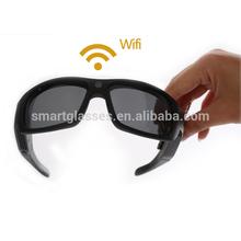 Custom Wayfarer glasses with video camera