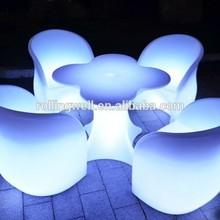 Led Light Table,RGB color changing lighting leisure bar led table,illuminated Led reception counter
