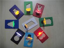 cheap promotional items portable pocket led card light lamp