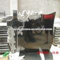 granito negro de china américa cruz y diseño de la flor lápida