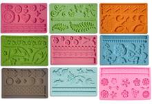 Numbers Alphabet silicone fondant mold cake decorating mold fondant impression mold 19kinds shapes