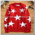 100% de cachemira nuevo estilo suéter de punto para bebe