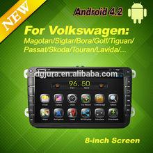Car DVD Navigation for Volkswagen Skoda Octavia Touran Tiguan