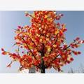 Nouveau produit 2014 arbres artificiels paysage lumière arbre mené cherry blossom bon faux artificielle fleurs en plein air led d'arbres fruitiers