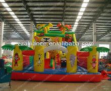 bouncer slide animal land inflatables slide giant inflatable slide