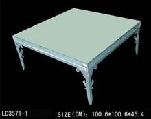 teak wood coffee table mirror furniture