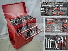 158pcs Roller CABINET kraft tools auto repair and maintenance tool trolley