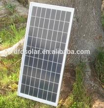 2014 hot selling factory direct 15W 18V price per watt solar panels