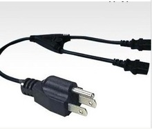 Y power cord with 2 C13 connector for USA market