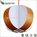 Ul ce saa rohs pingente de madeira lâmpada de toyota corolla frontal lâmpadas modernas na China