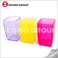 Placas de plástico y tapas de doble pared de plástico taza de venta al por mayor