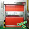 Air shower automatic quick door/fabric quick roller shutter door/PVC quick roll up door