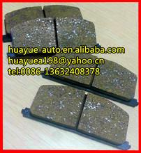 brake pads for toyota D302 572255J D242 1Y08-33-28Z MDB1251 PN1094 1Y07-33-28Z SPRINTER TRUENO STARLET SPRINTER CARIB PN1077