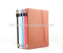 Premium slim leather case for ipad mini,for ipad mini case
