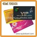 85.5*54mm tarjeta de negocios de impresión del pvc tarjeta de impresora