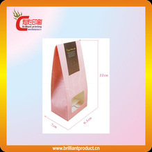 High quality paper pink cookie bags food packaging custom printed grocery bag