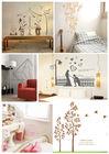 Unique healthy modern 3D romantic bedroom wall art decoration