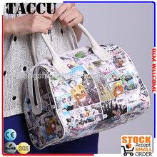 Taccu TH1202 The unique plastic canvas women's handbags