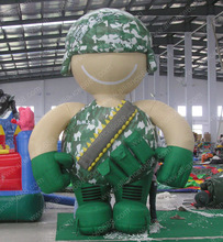oxford cloth advertising model soldier inflatable cartoon