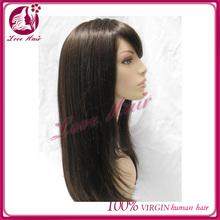 Top Grade Silk Top Virgin European human Hair Kosher Jewish Wig