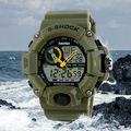 swiss relógio skmei tubarão do exército