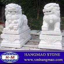Stone Lion Garden Sculptures For Sale