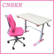 SKR-02 Adjustable household Novel india college children desk and chair