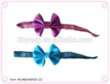 baby soft elastic bow headbands accessories