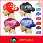 Hot selling new design flower swim cap
