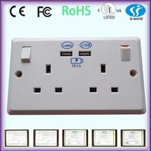 usb wall socket electrical fitting