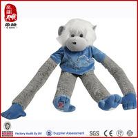 factory direct sale promotion plush long arm monkey