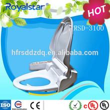 bathroom clean sense bidet set woman using bidet Royalstar Group sanitary products