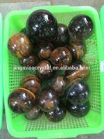 Natural quartz crystal stone ball tiger eye ball/Natural Tiger eye ball for sale