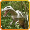 dinossauro esculturas ao ar livre andar dinossauro velociraptor