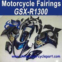 Classic Design 08 09 For Suzuki GSXR1300 Motorcycle Body Kits For Hayabusa Blue FFKSU013