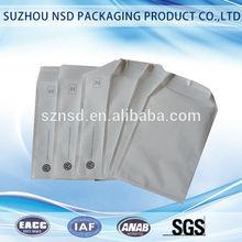 antistatic customized adhesive plastic bag pe ld