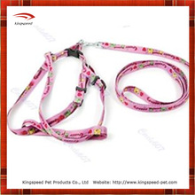 Health Care Pink Printing Dog Leash