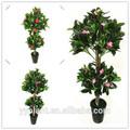 0530 flores artificiais de silicone copa do mundo de mobiliário de interior da árvore de pistache