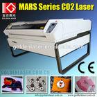 embroidery applique laser cutter machine/Co2 lazer cutting